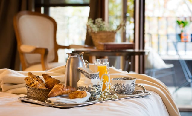 Breakfast in the room | Primero Primera Hotel